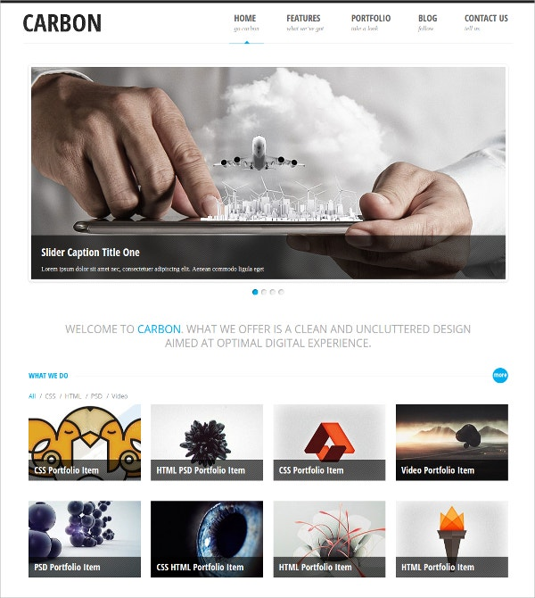 Free Business Responsive WordPress Theme