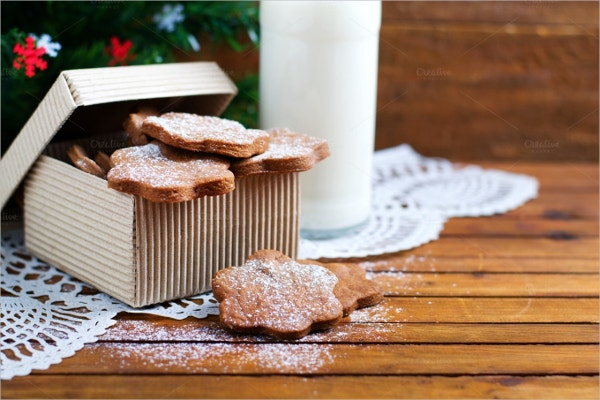 Ginger Cookies in a Box