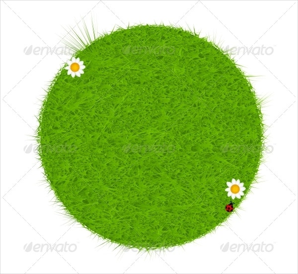 Eco Friendly Grass Vector