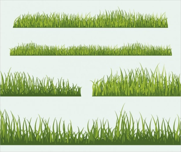 grass collection free vector1
