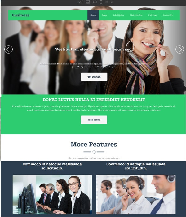 Premium Free Coopertaive Website Theme