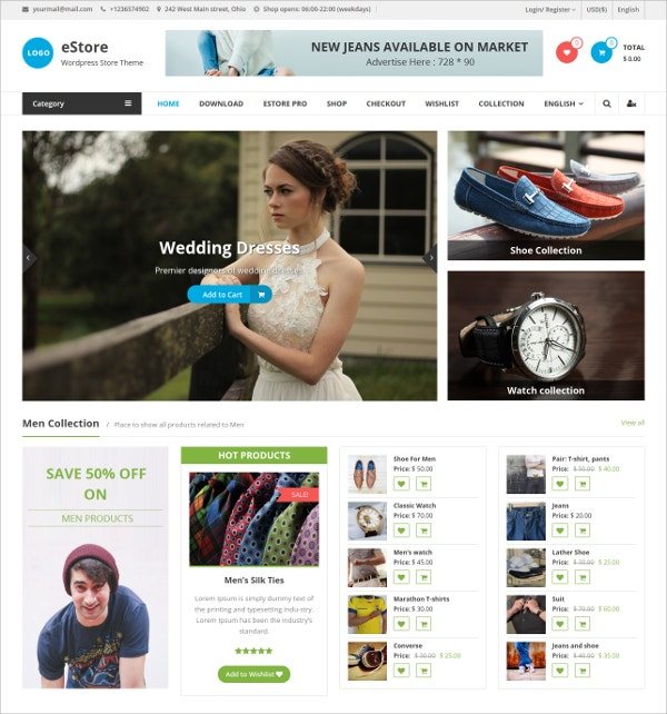 Free Kids eCommerce Website Theme