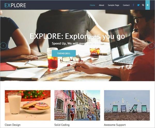 free multipurpose website theme
