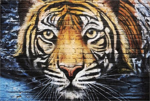 Tiger Street Art