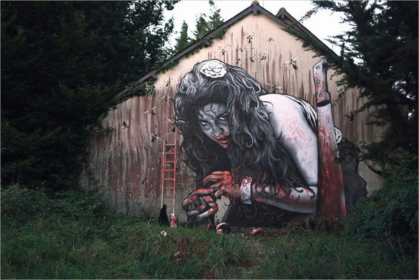 Ghost Street Art