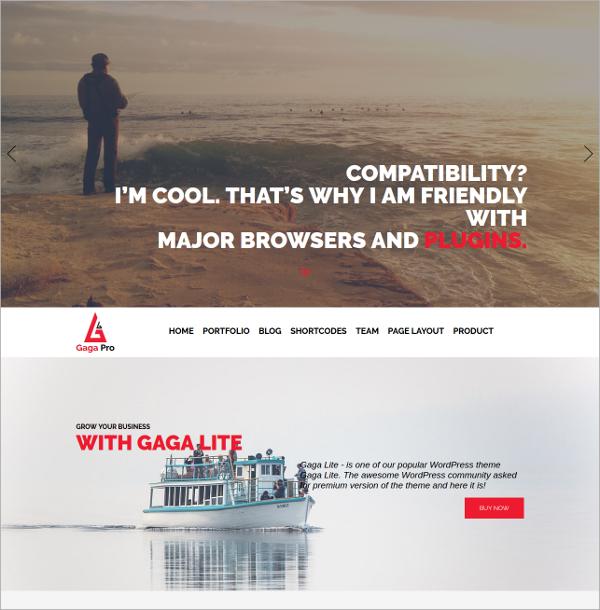 free gallery website theme
