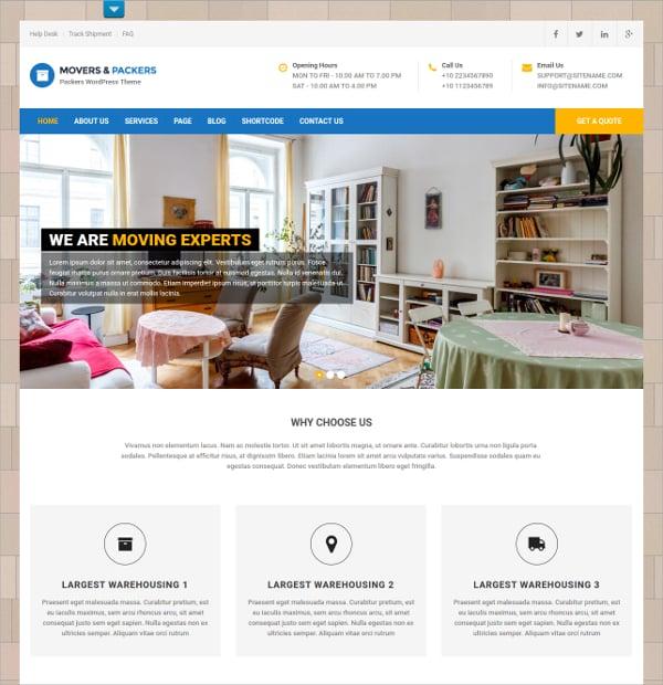 free services premium website theme