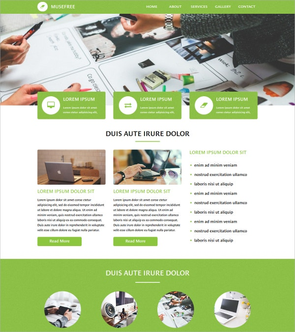 free awesome website theme
