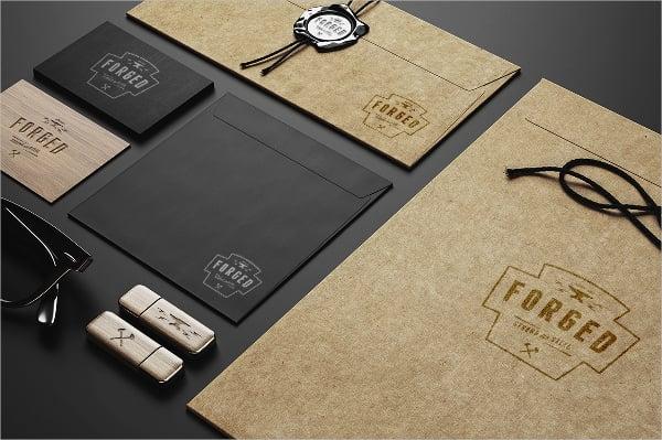 Branding Envelope Mockup