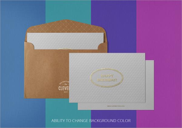 Bifold Envelope Mockup