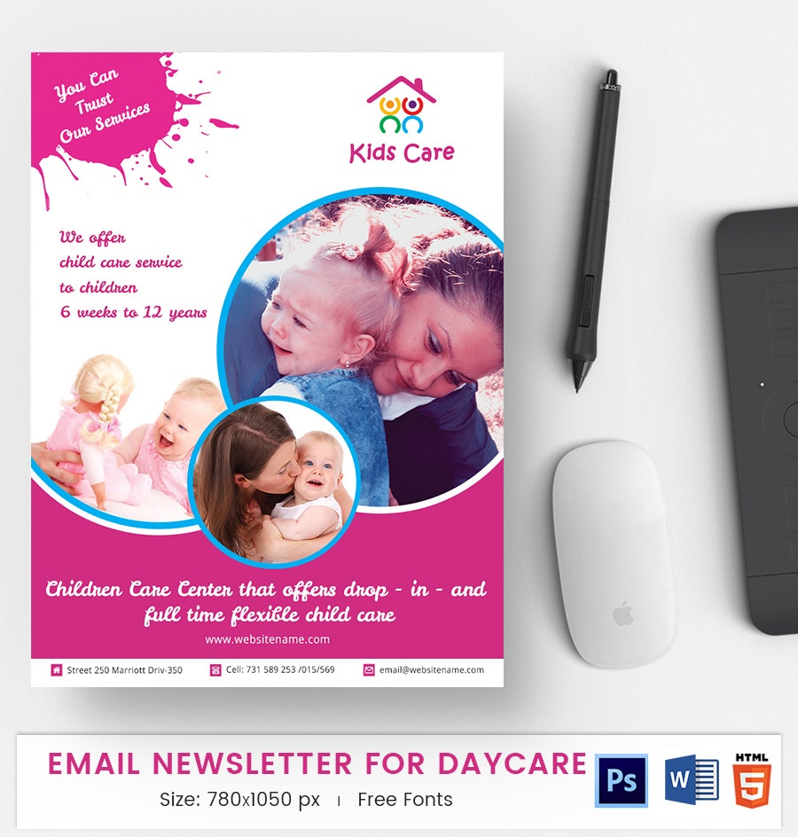 Daycare E-Mail Newsletter