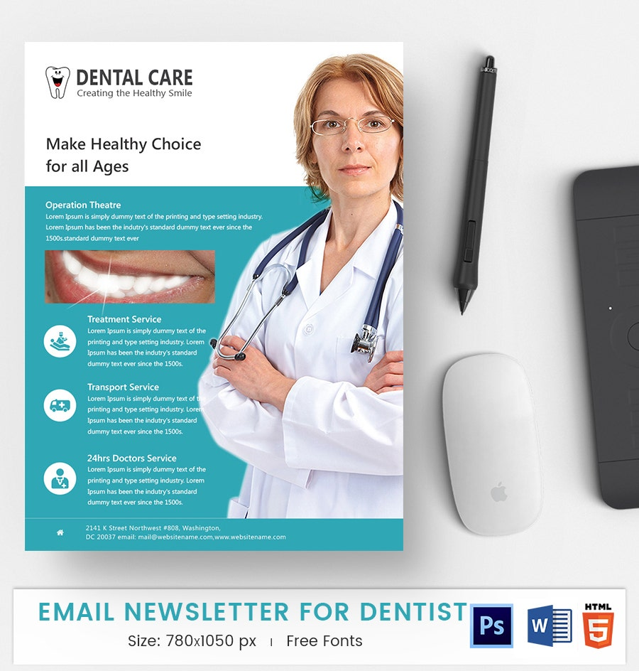 Dentist E-Mail Newsletter