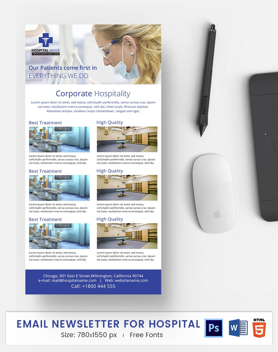 Hospital E-Mail Newsletter