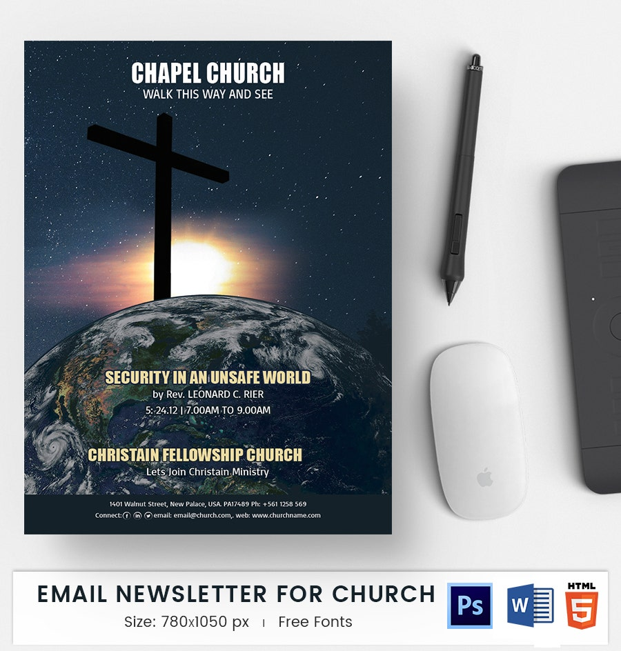 church e mail newsletter