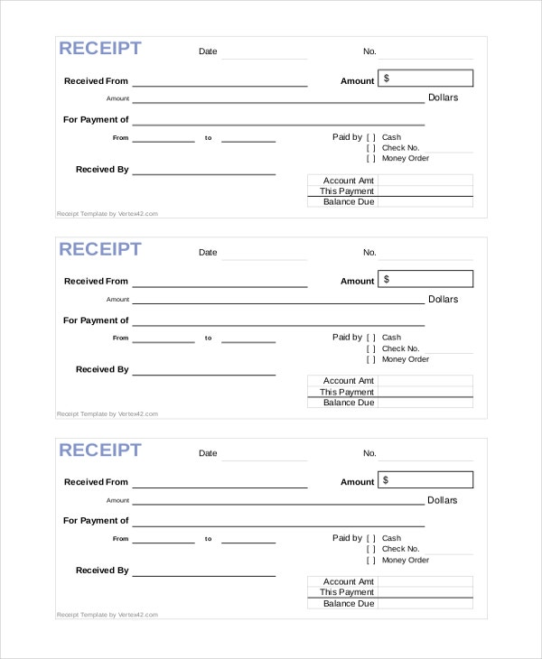 Perfect Official Cash Receipt Template Pertaining To Official Receipt Sample Format