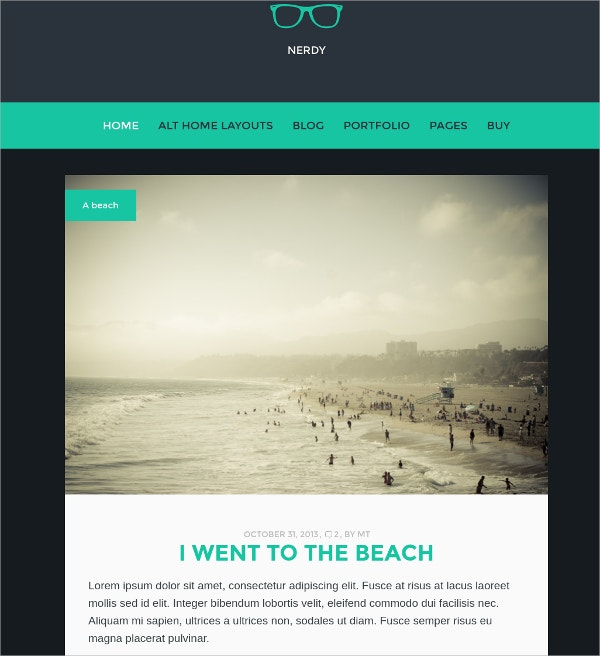 Multipurpose WordPress Blog Theme $44