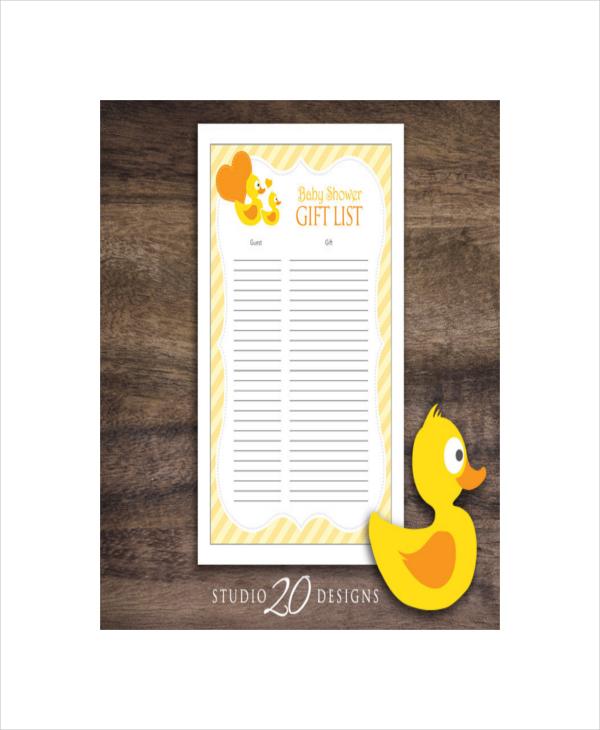 blank baby gift registry checklist1