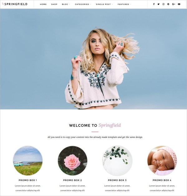 Creative Design Photography WordPress Theme $49