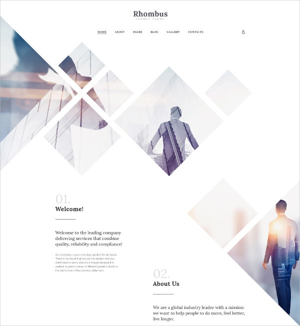Business Company Joomla Template $75