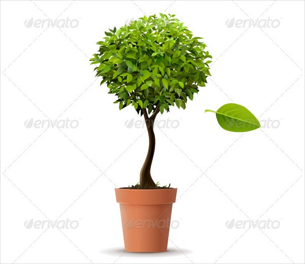 Realistic Tree Vector
