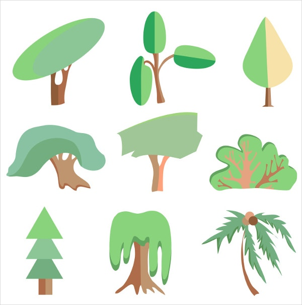 Willow Tree Vector