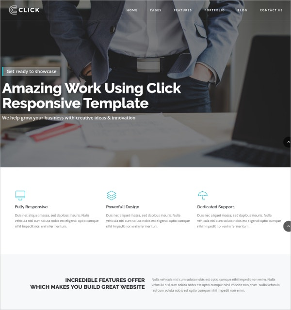 Responsive Business Joomla Template $48