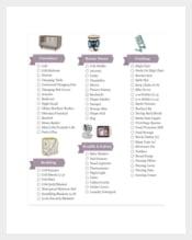 Baby Gift New Registry Checklist