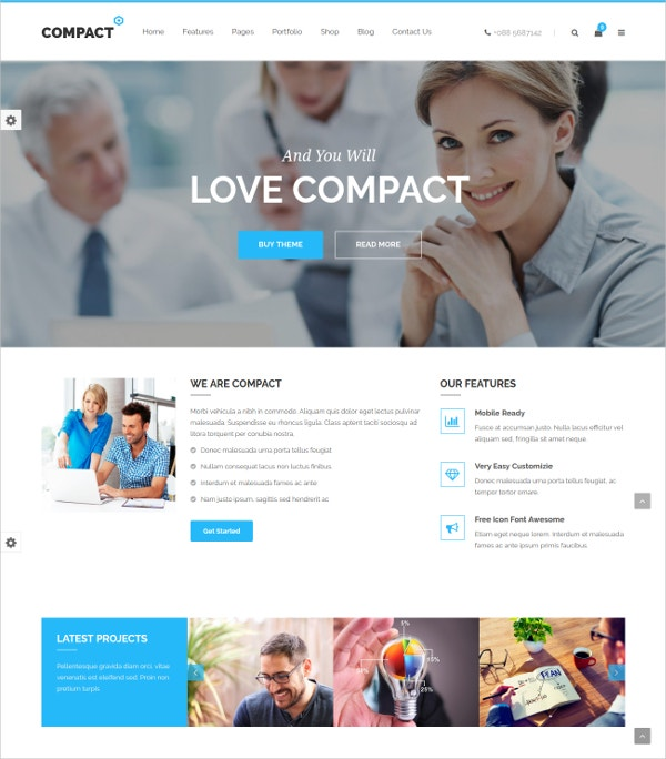 Corporate & Business Joomla Template $48