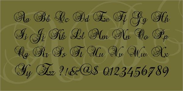 precious decorative font - Decorative Fonts