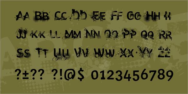Trashco Decorative Font