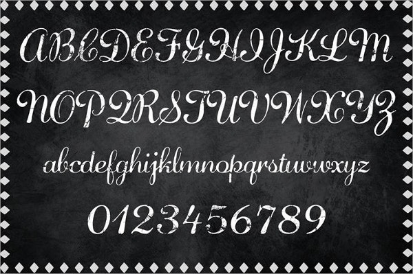 decorative diamond dust font