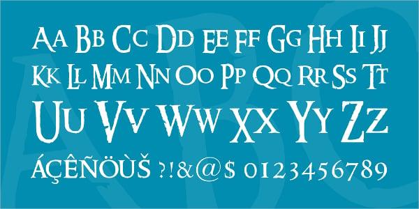 Ringbearer Medieval Fonts