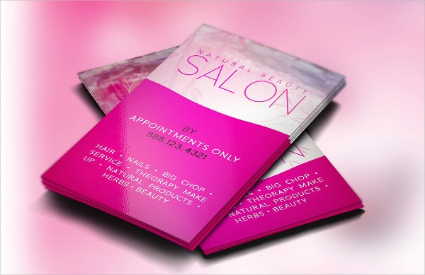 Stylist Salon Business Card