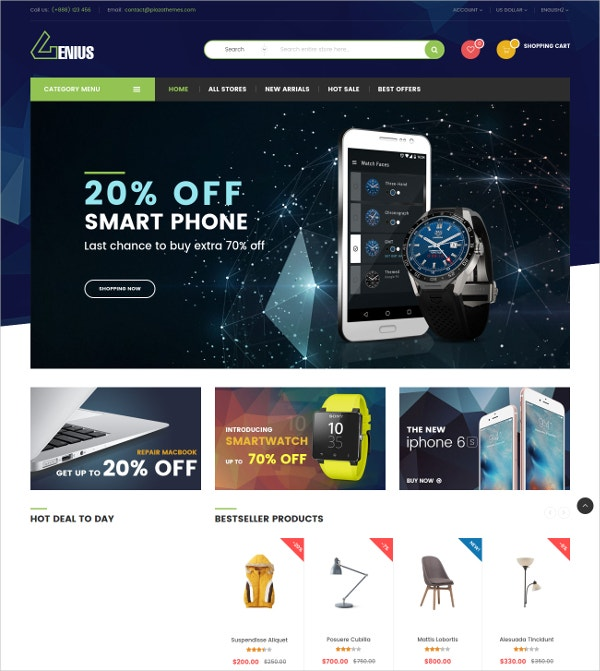 Household Appliances eCommerce Magento Theme $84