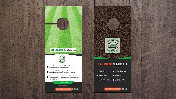 Creative Door Hanger Designs  Free  Premium Templates