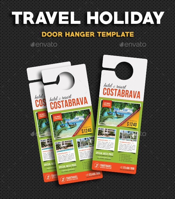 Travel Holiday Door Hanger