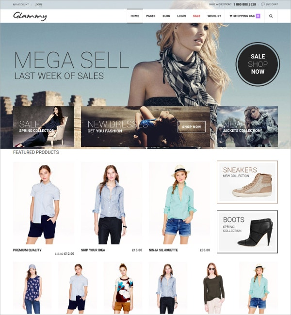 Creative eCommerce WordPress Theme $59
