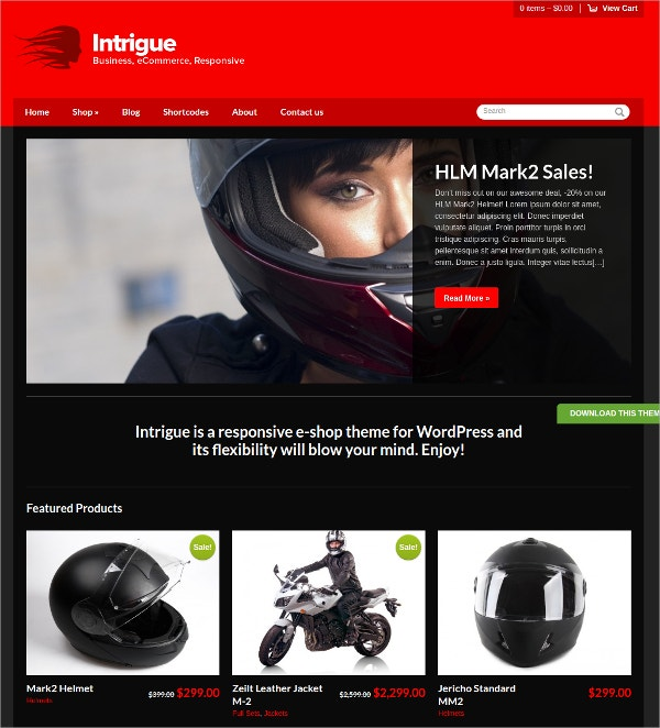Amazing WordPress eCommerce Theme