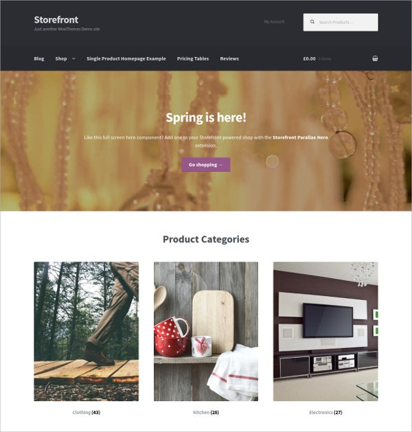 Perfecct Platform eCommerce Free WordPress Theme
