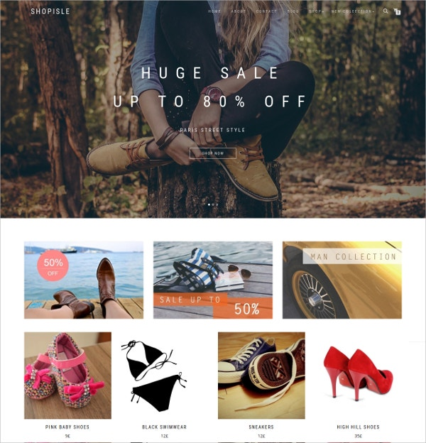 Elegant Free WordPress eCommerce Theme