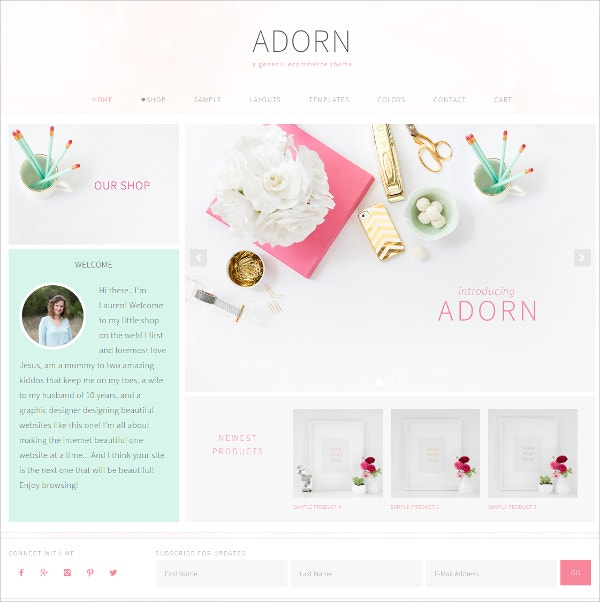 Simple eCommerce WordPress Theme
