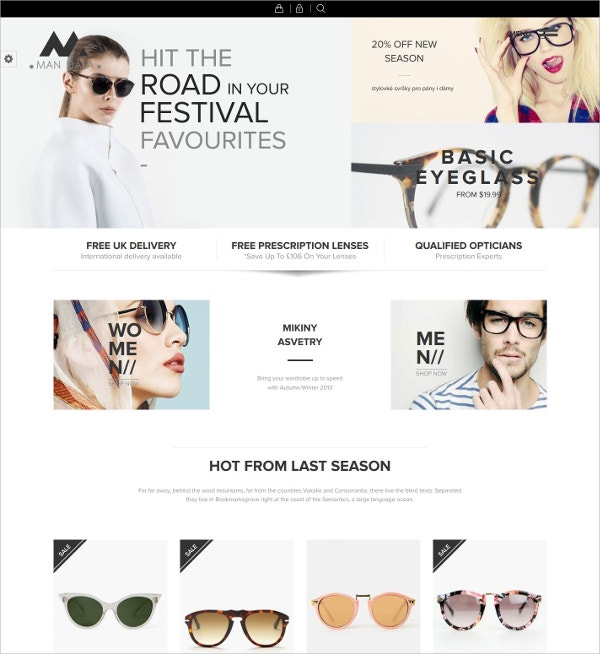 Fashion Responsive eCommerce WordPress Theme $59
