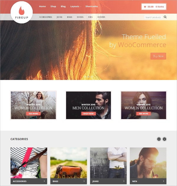 WordPress eCommerce Theme $49