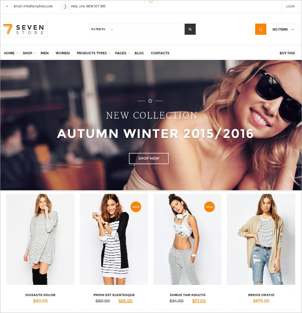Accessore Ecommerce WordPress Theme $59