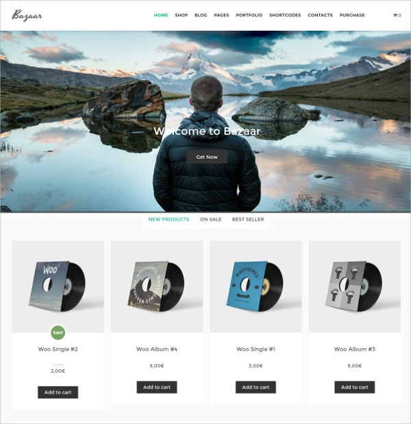 Free Products eCommerce WordPress Theme