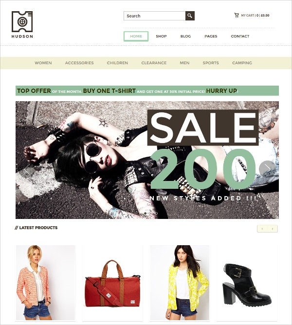 Modern, Design eCommerce WordPress Theme