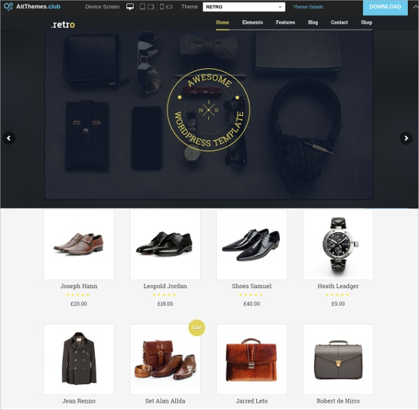 Powerful eCommerce WordPress Theme