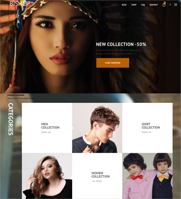 Responsive Multipurpose eCommerce WordPress Theme