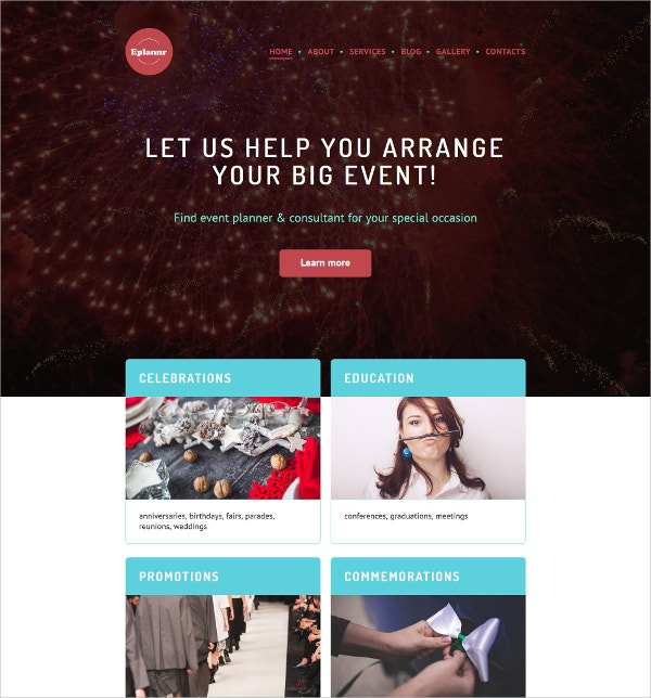 Big Event WordPress Theme $75