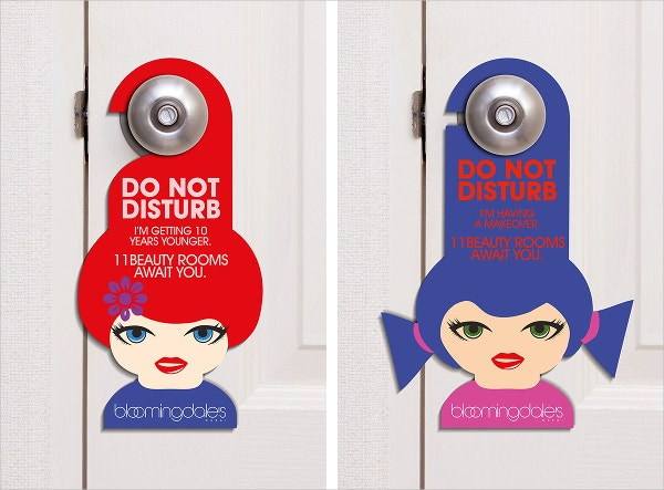 Door Hangers  DoorHangersSingleSide